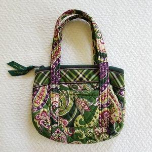Vera Bradley Chelsea Green Little Girls Bag Purse